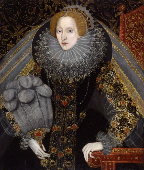 NPG 2471; Queen Elizabeth I by Unknown artist