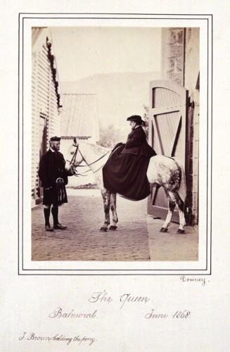 NPG P22(4); John Brown; Queen Victoria by W. & D. Downey