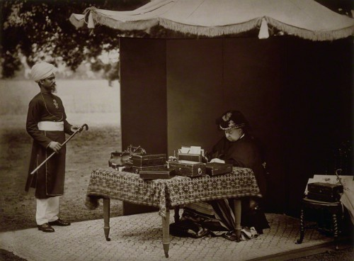 NPG P51; Hafiz Abdul Karim; Queen Victoria by Hills & Saunders