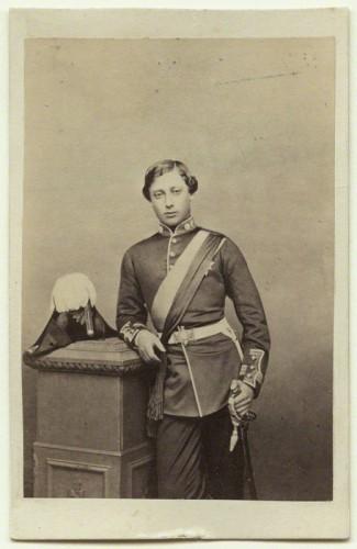 NPG Ax47004; King Edward VII when Prince of Wales by John Jabez Edwin Mayall