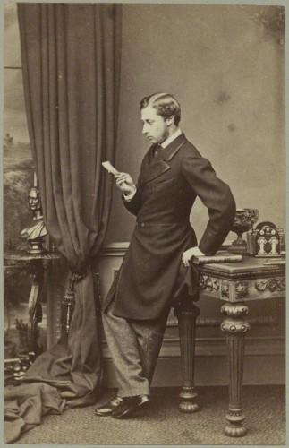 NPG x14381; King Edward VII when Prince of Wales by John Jabez Edwin Mayall