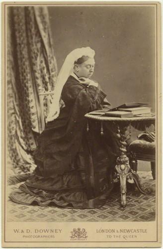 NPG x87692; Queen Victoria by W. & D. Downey