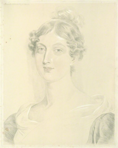 NPG D33521; Princess Charlotte Augusta of Wales after Sir Thomas Lawrence