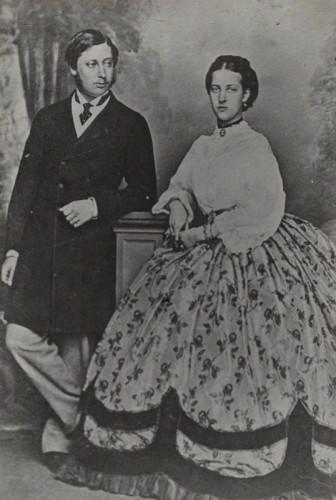 NPG Ax26441; Queen Alexandra; King Edward VII by Lafayette (Lafayette Ltd)