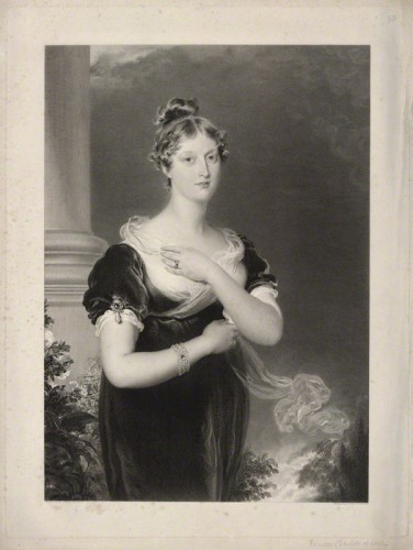 NPG D22138; Princess Charlotte Augusta of Wales by Richard Golding, after  Sir Thomas Lawrence