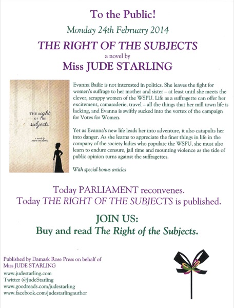 Subjects flyer