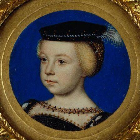 Elizabeth of Valois, Queen of Spain 1549 clouet
