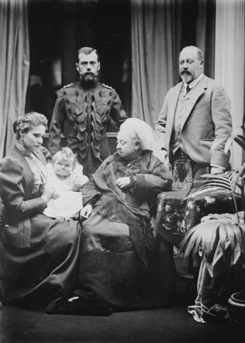 Nicholas Alexandra Olga Queen Victoria Bertie
