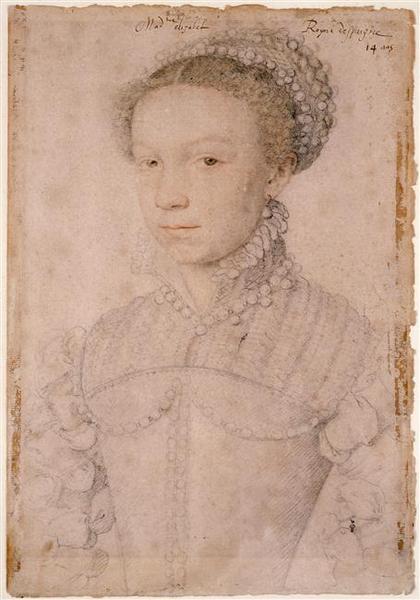 isabelle de valois 1558 clouet