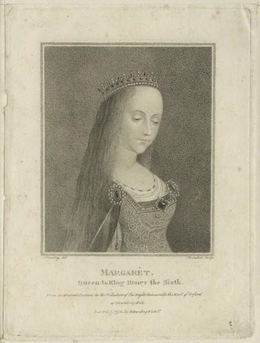 NPG D23777; Queen Margaret of Anjou by Schenecker, published by  Edward Harding, after  Sylvester Harding
