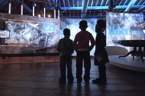 London Sugar and Slavery Gallery son et lumiere (c) Museum of London