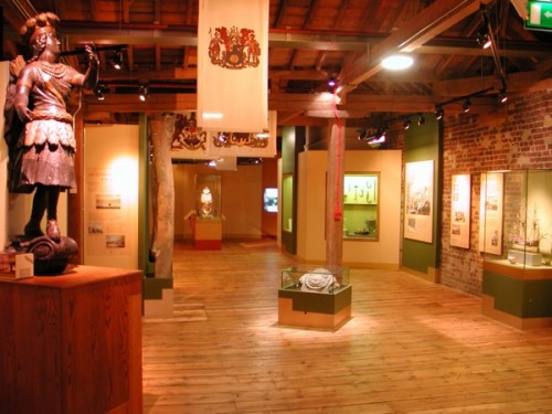 (c) Museum of London Docklands Trade Expansion