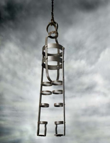 Gibbet cage: 1801-1835
