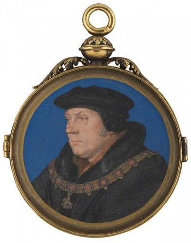 NPG 6311; Thomas Cromwell, Earl of Essex studio of Hans Holbein the Younger
