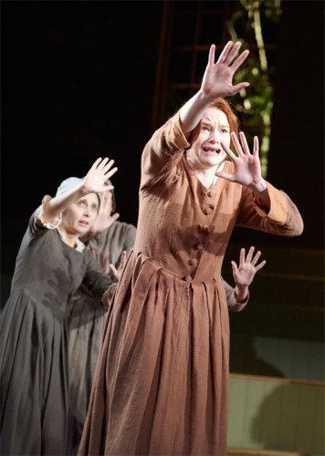 The-Crucible---Bristol-Old-Vic--Olivia-Edwards-(Susanna-Wallcot),-Rona-Morison-as-Abigail-Williams---Photo-by-Geraint-Lewis-(76)---LOW-RES