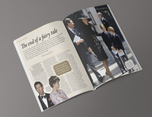 William & Harry -The end of a fairy tale mockup